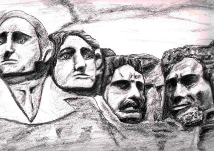 Mount-Rushmore - Gehre, Peter - Spergau
