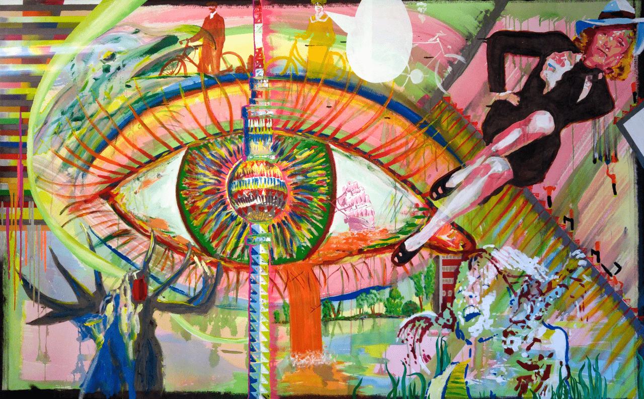 Werk Stephan Backhaus Kunst Merseburg - Gemälde