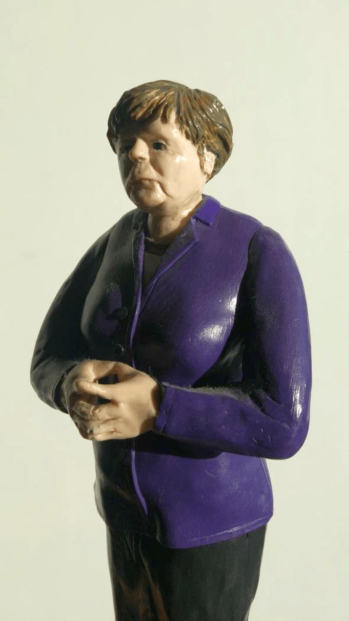 Angela Merkel Modell 1:6
